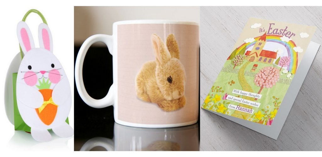 St georges shopping centre gravesend easter bunny felt keepsake gift bag 500 at clintons easter inspired mugs 799 and easter cards from 99 pence at card factory negle Image collections