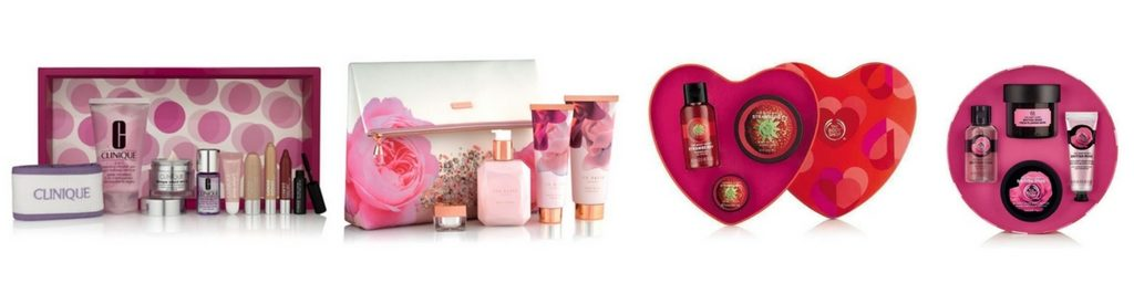 85dcf531dac535 Ted Baker Blush Bouquet Cosmetic Bag Gift £24.00 at Boots Strawberry Heart  Gift Set £10.00 at The Body Shop British Rose Head-to-Toe Collection £25.00  at ...